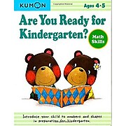 """Are you Ready for Kindergarten?: Math Skills"" Paperback Book, Preschool - Kindergarten (968833)"