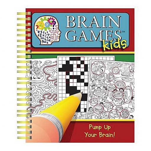 """Brain Games Kids 3"" Book (3399000)"