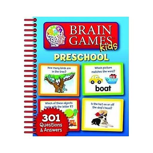 """""""Brain Games Kids Preschool"""" Book, Preschool - Kindergarten (7518500)"""
