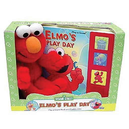 """Elmo's Play Day"" Sesame Street Book, Infant - 2nd (7186300)"