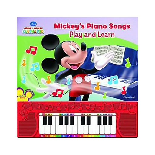 """Mickey Mouse Clubhouse Learn To Play Piano"" Book (7527300)"