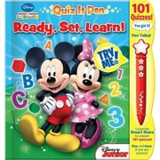 """Mickey Mouse Clubhouse: Ready, Set, Learn! (Quiz It Pen!)"" Book (7665300)"