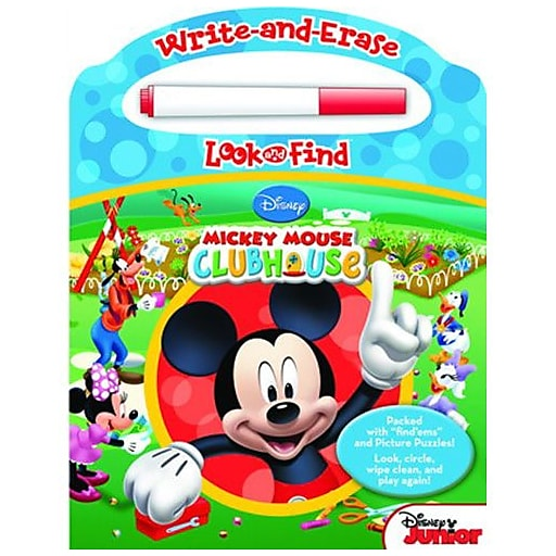 """Mickey Write And Erase Look And Find"" Book (7632400)"
