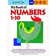 """""""My Book Of Numbers 1-30"""" Paperback Book, Preschool - 1 (307039)"""
