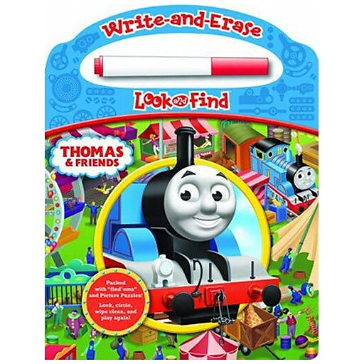 """Thomas Write And Erase Look And Find"" Book, Toddler - 2nd (7631700)"