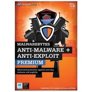 MalwareBytes Anti-Malware Exploit Premium Software, Windows (8121874)
