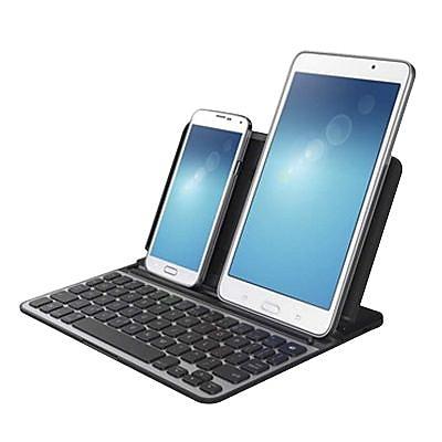 Belkin F5L179TTBLK Black Keyboard Cover for iPhone 6/6s Plus, iPad Mini 2/3/4, Galaxy S, Galaxy Tablets, Galaxy Edge