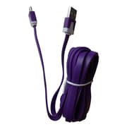 Duracell Charger Cable 10' for Universal, Purple (PRO443)