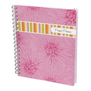"C.R. Gibson Project Planner, 7 3/4"" x 9 1/2"", Pink Sorbet (MJP10-9356)"