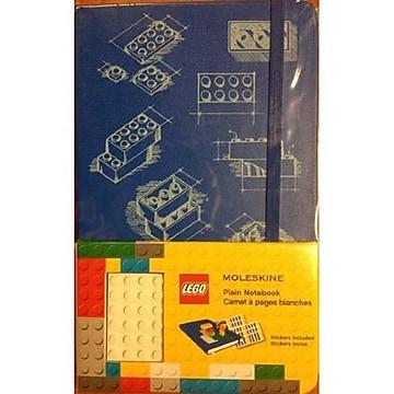 Hachette Books Ireland Moleskine Lego Notebook, 8.267  x 12.598 , Blue (326211),Size: med