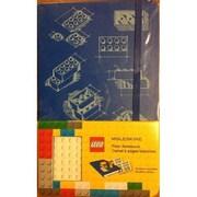 "Hachette Books Ireland Moleskine Lego Notebook, 8.267"" x 12.598"", Blue (326211)"
