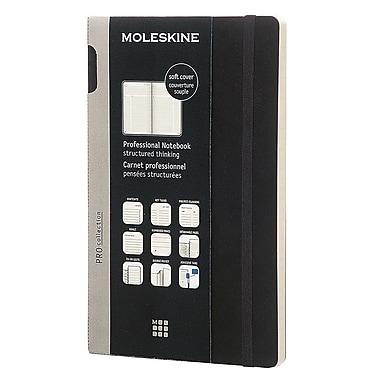 Moleskine Professional Notebook 8.25 x 5 Hard Cover Black (891348)