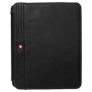 6195d6ad50e2 Wenger® Echelon Black Leather Present-O-Folio (WA-5538-09F00)