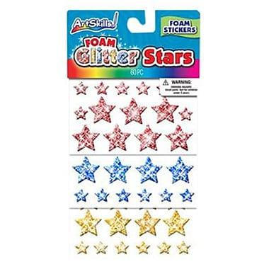 ArtSkills® Glitter Foam Star, 60/Pack (PA-1727)