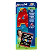 """ArtSkills® Jumbo Sparkle Quick Letters, Assorted, 4"""", 108/count (PA-1484)"""