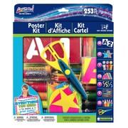 """ArtSkills® Poster Making Kit, 10"""" x 12"""" x 1.9"""", 253/Pack (PA-1276)"""
