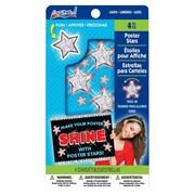 ArtSkills® Poster Stars, White, 5 count (PA-1324)