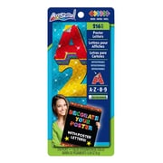 "ArtSkills® Sparkle Quick Letters, Assorted, 2"", 216/count (PA-1335)"
