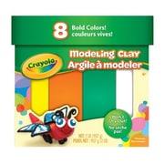 Crayola® Jumbo Modeling Clay, Bold Assorted, 8/Pack (57-0315)