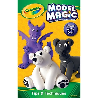 Crayola® Model Magic Kit, Primary Colors, 4/Pack (23-2402)