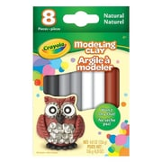Crayola® Modeling Clay, Neutral Assorted, 8/Pack (57-0314)