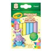 Crayola® Modeling Clay, Pastel Assorted, 8/Pack (57-0311)