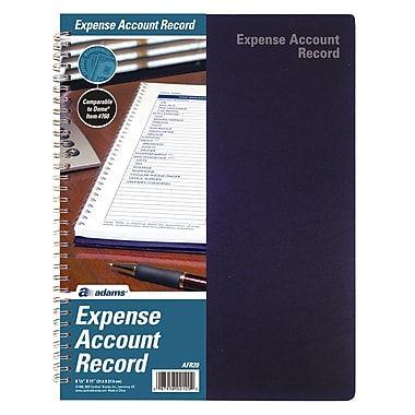 TOPS™ Expense Account Record Book, Weekly, 11