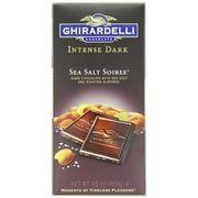 Ghirardelli Chocolate® Intense Dark Chocolate Bar, Sea Salt Soiree, 3.5 oz. (GSSSID12)