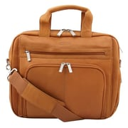 "Heritage 524463 Travelware Kenneth Cole Out Of The Bag 15.4"" Leather Portfolio Computer Case, Tan"