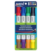 ArtSkills® Double-Sided Chisel Permanent Marker, Assorted, 4/Pack (PA-1269)