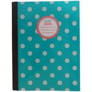 """Studio C® Polka Party Composition Book, Wide Ruled, 9 3/4"""" x 7 1/2"""", Multicolor (95897)"""