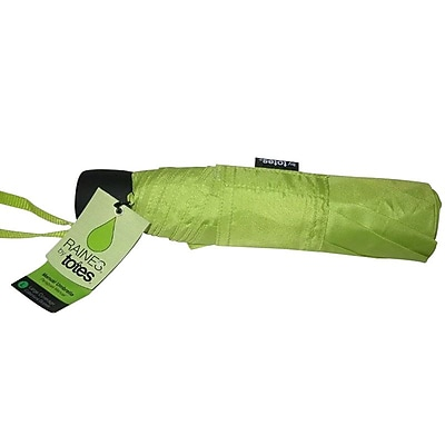 Totes® Large Coverage Manual Umbrella, Green (00701ZAST)