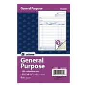TOPS™ Carbonless General Purpose Form, 2-Part, 100 Sheets/Pack (NC2581)