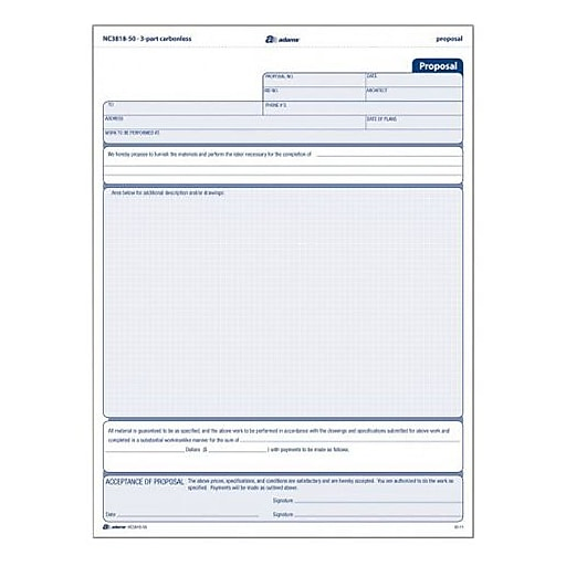 Proposal Form Radio Advertising Proposal Form Advertising Business