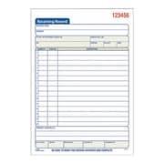 Adams® Carbonless Receiving Record Book, 2-Part, 50 Sheets/Book (DC5089)