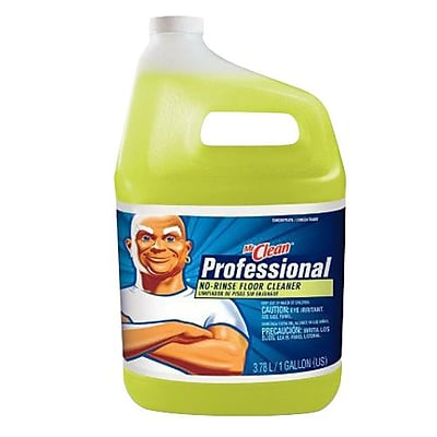 Mr. Clean® Professional No-Rinse Floor Cleaner, Lemon, 1 gallon (84820894)