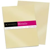 "Southworth Metalo Paper, 8.5"" x 11"", 31 lb., Butter Cream, 50/Pack (P854L)"