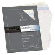"Southworth Granite Specialty Sampler Paper, 8.5"" x 11"", 24 lb., Assorted, 50 Sheets/Pack (P914S)"