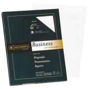 "Southworth 25% Cotton Business Paper, 8.5"" x 11"", 24 lb., Wove Finish, White, 100 Sheets/Box (P403C)"