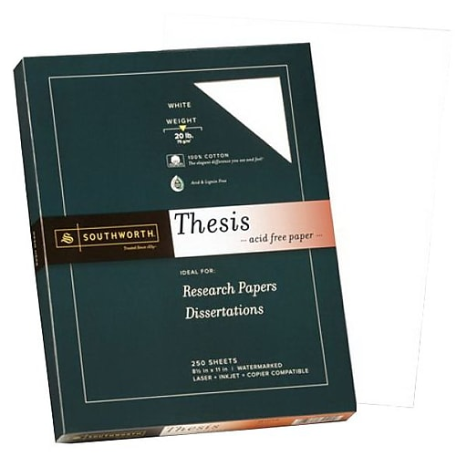 Southworth wove thesis paper 8 12 x 11 bright white 250pack httpsstaples 3ps7is reheart Choice Image
