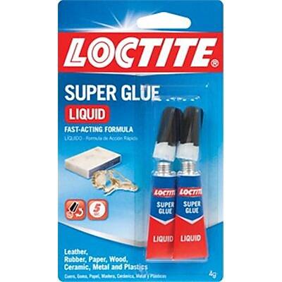 Loctite® Liquid Super Glue, 2 g, 2/Pack (1363131)