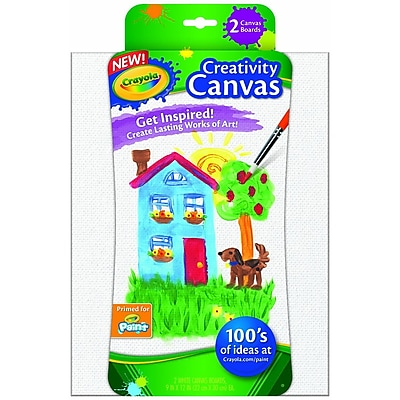 Crayola® Creativity Canvas Board (54-1053)