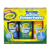 Crayola® Secondary Finger Paint, Non-Toxic, Washable, 8 oz. (55-1311)