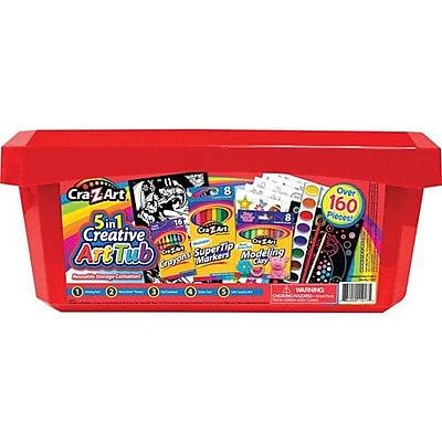 Cra-Z-Art® 5-in-1 Art Tub (11060-4)