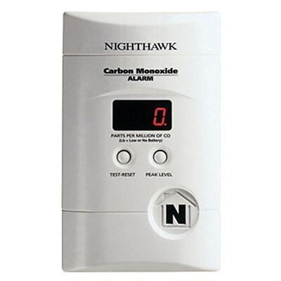 Kidde Nighthawk™ AC Plug-In Carbon Monoxide Alarm with Digital Display (KN-COPP-3)