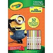 Crayola Despicable Me, Color & Sticker Book (04-0056)