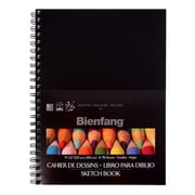 "Elmer's® 9"" x 12"" Black Sketch Book (234-501)"
