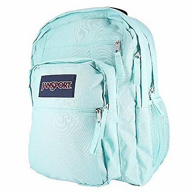 Jansport Big Student Aqua Dash Polyester Backpack (TDN79ZG)