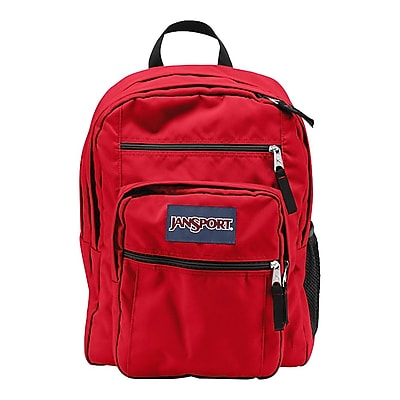 Jansport Big Student High Risk Red Polyester Backpack (TDN75KS)