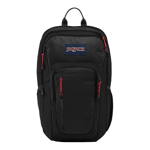 latest sale offer shop best sellers Jansport® Recruit Black Nylon/Polyester Backpack (T69G008)